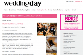 Wedding Day Magazine: Picture Perfect Love