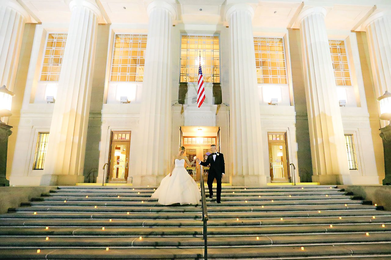 Christine Moshe Indianapolis Library Wedding