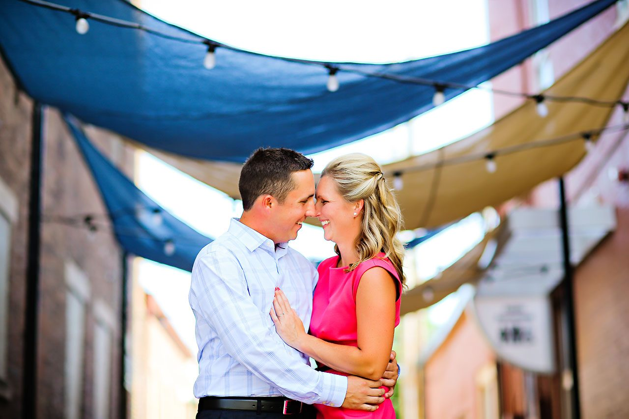 Lindsey Dave Noblesville Engagement Photographer