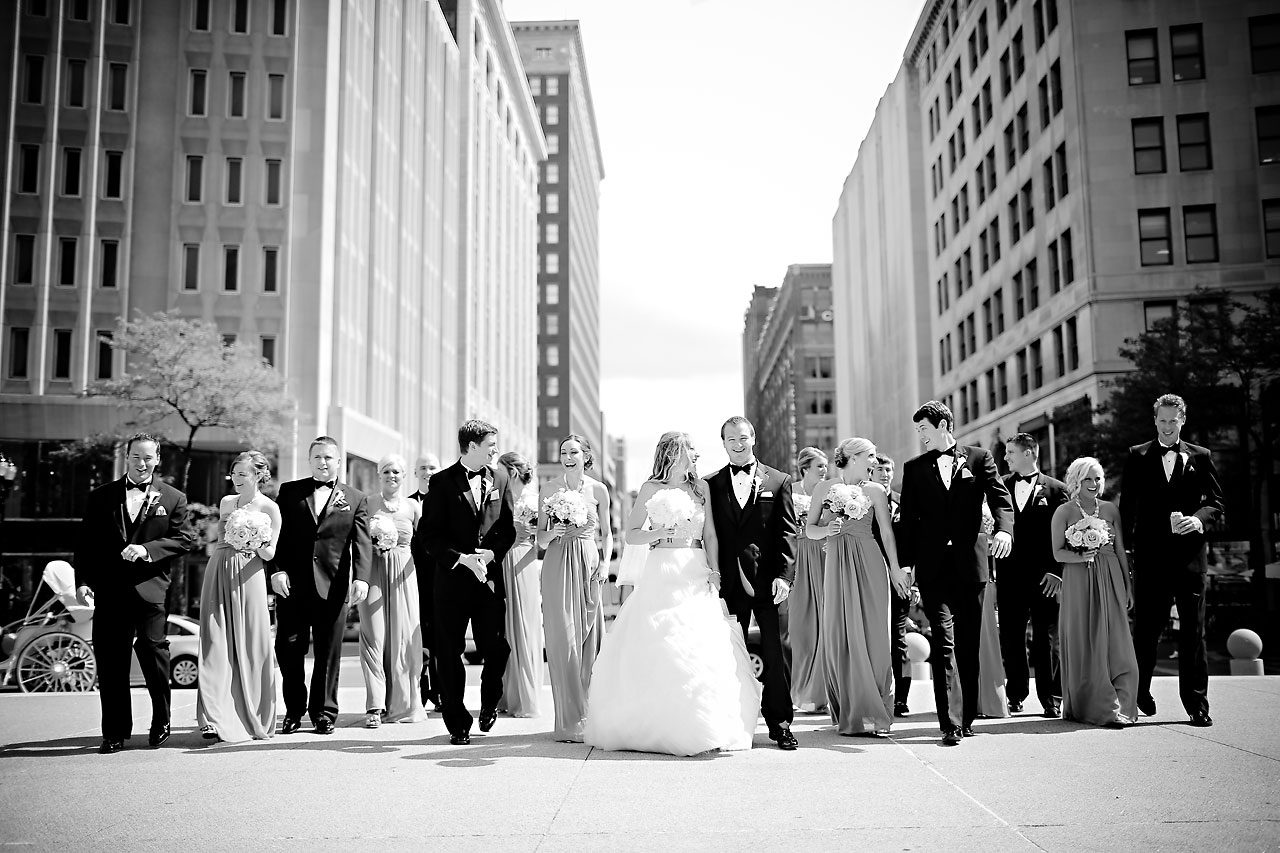 Moey Drew Indiana Roof Ballroom Wedding 112