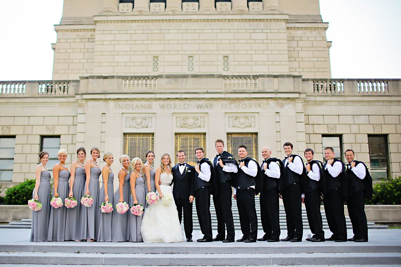 Moey Drew Indiana Roof Ballroom Wedding 117