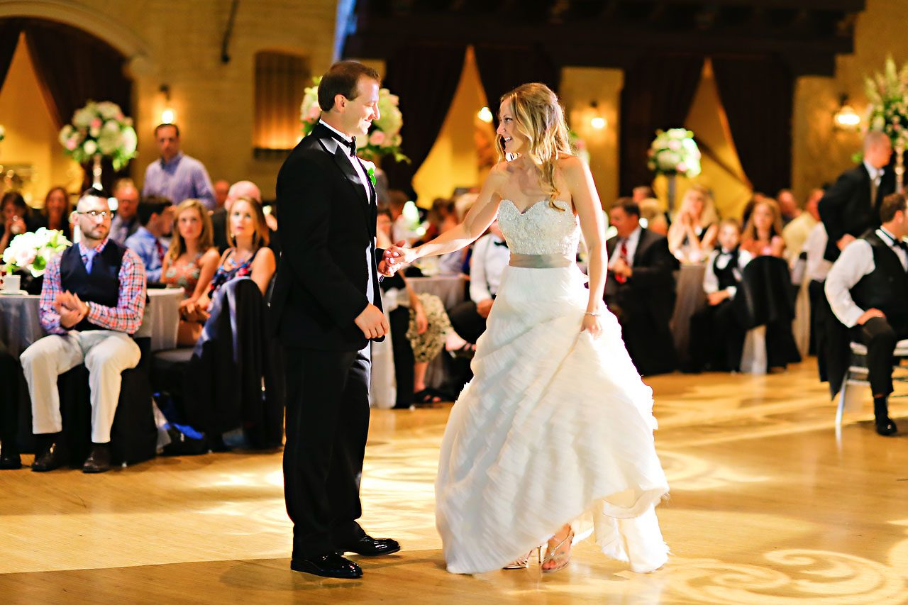 Moey Drew Indiana Roof Ballroom Wedding 211