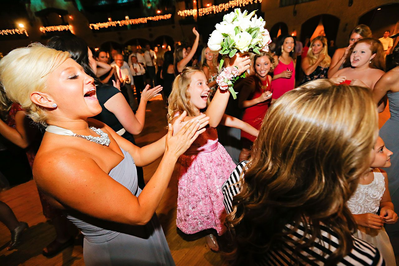 Moey Drew Indiana Roof Ballroom Wedding 237