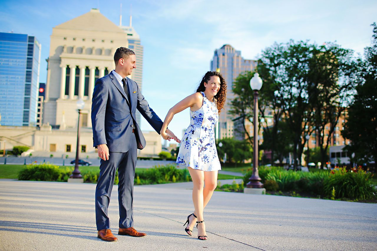 Liz Eric Indianapolis Engagement Session 097