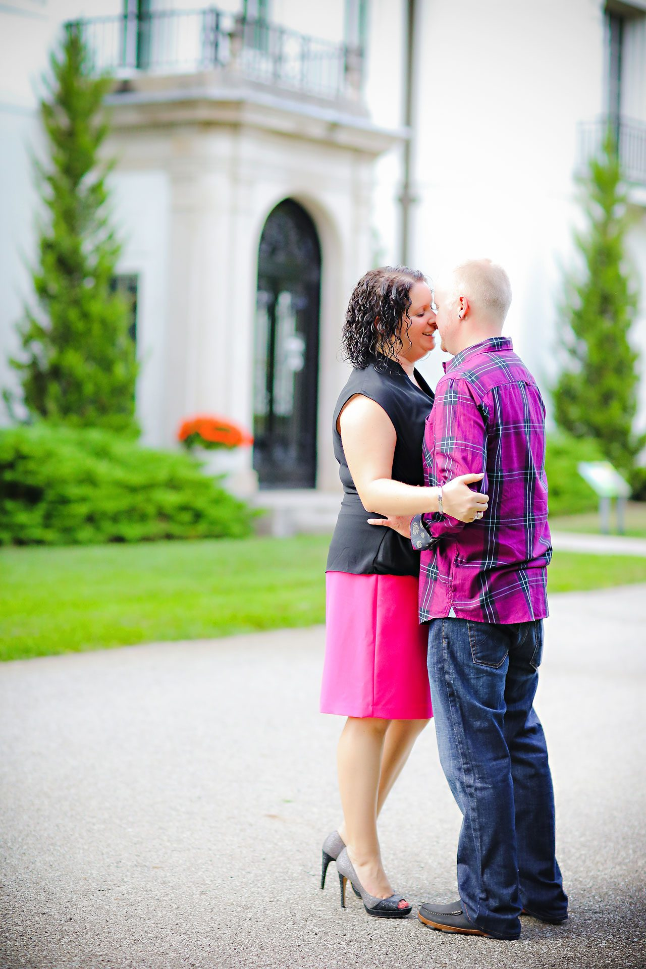 Brianna Eric Indianapolis Engagement Photographs 002