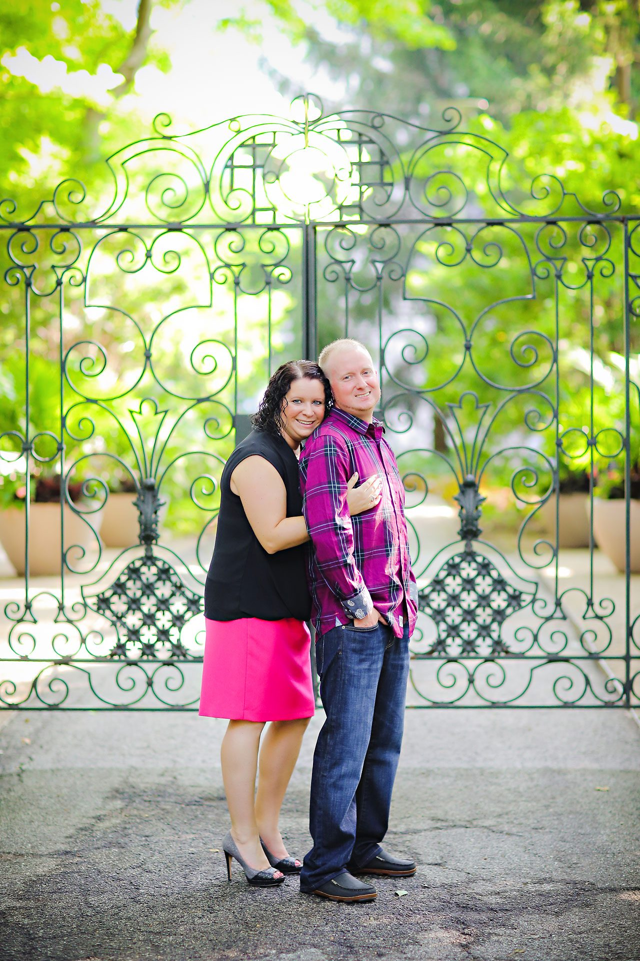 Brianna Eric Indianapolis Engagement Photographs 004