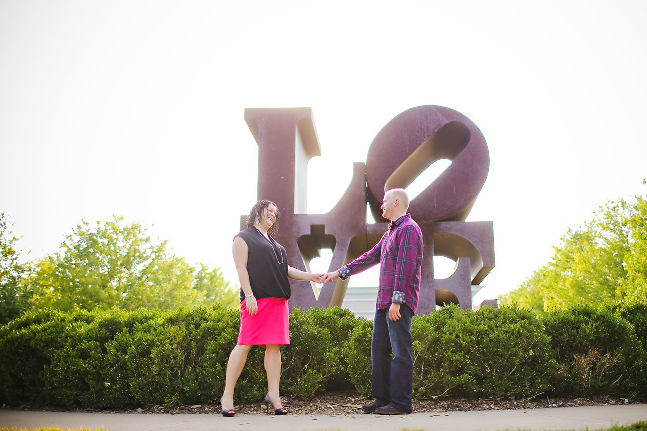 Brianna Eric Indianapolis Engagement Photographs 008