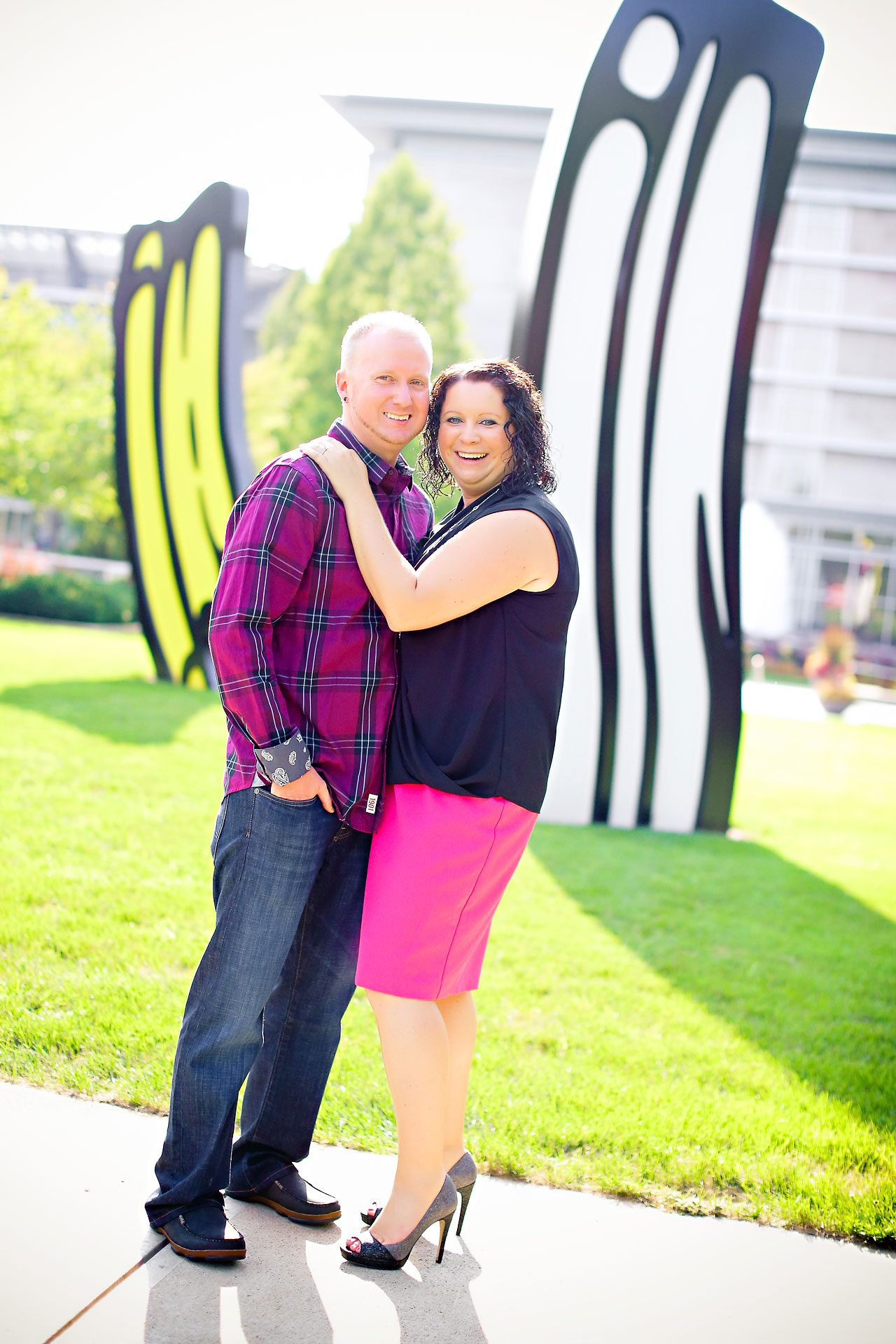 Brianna Eric Indianapolis Engagement Photographs 013