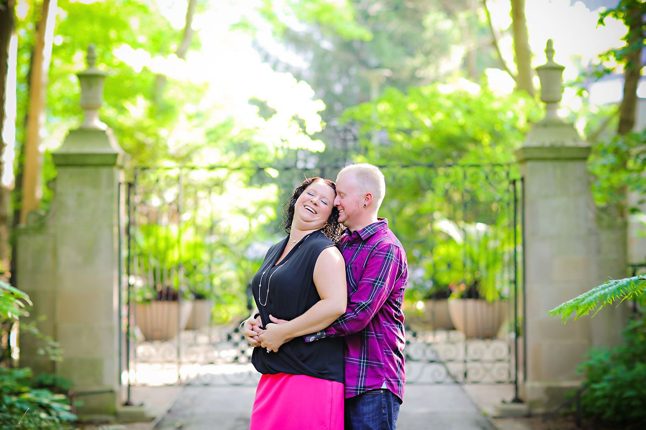 Brianna Eric Indianapolis Engagement Photographs 018