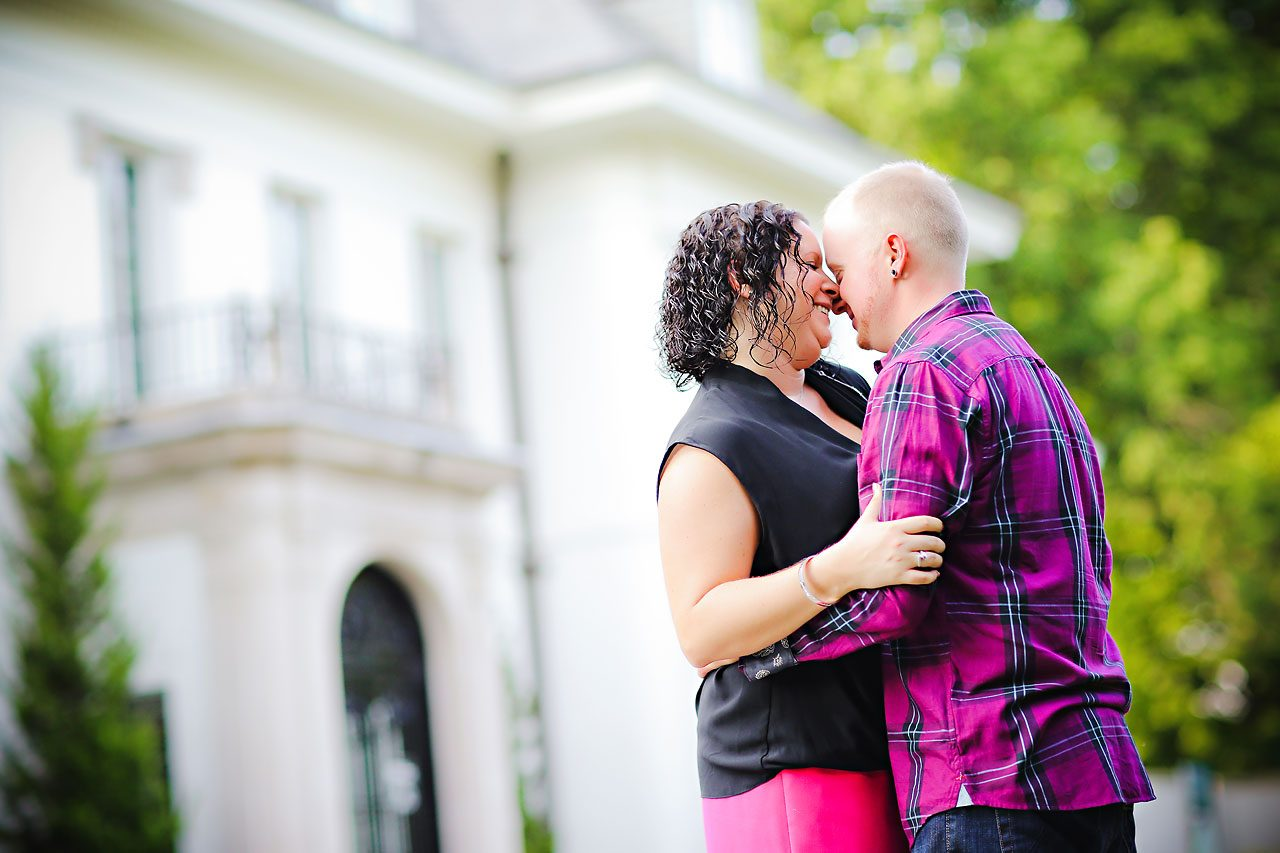Brianna Eric Indianapolis Engagement Photographs 019