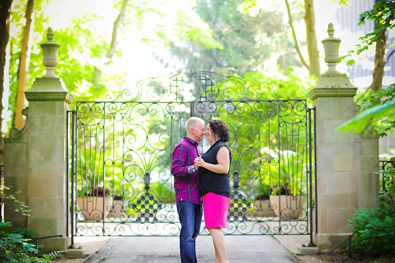 Brianna Eric Indianapolis Engagement Photographs 026