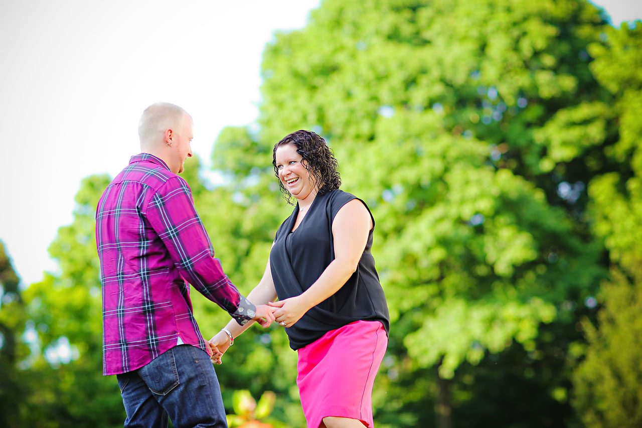 Brianna Eric Indianapolis Engagement Photographs 028