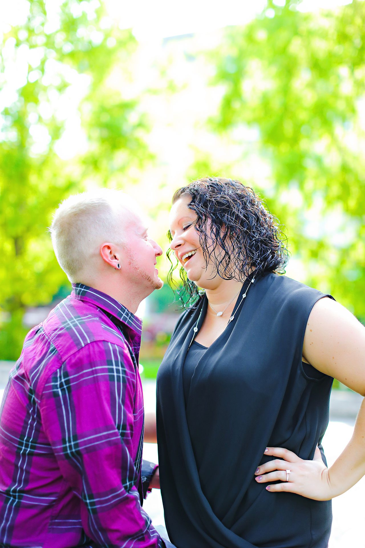 Brianna Eric Indianapolis Engagement Photographs 030