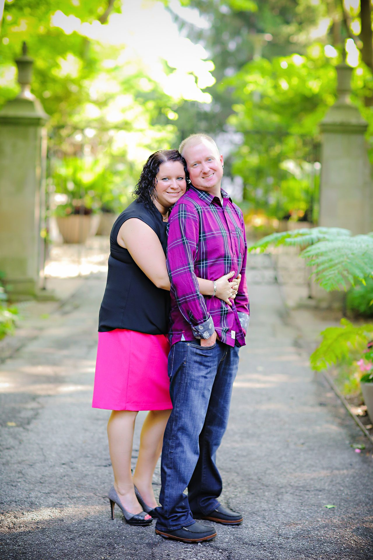 Brianna Eric Indianapolis Engagement Photographs 034