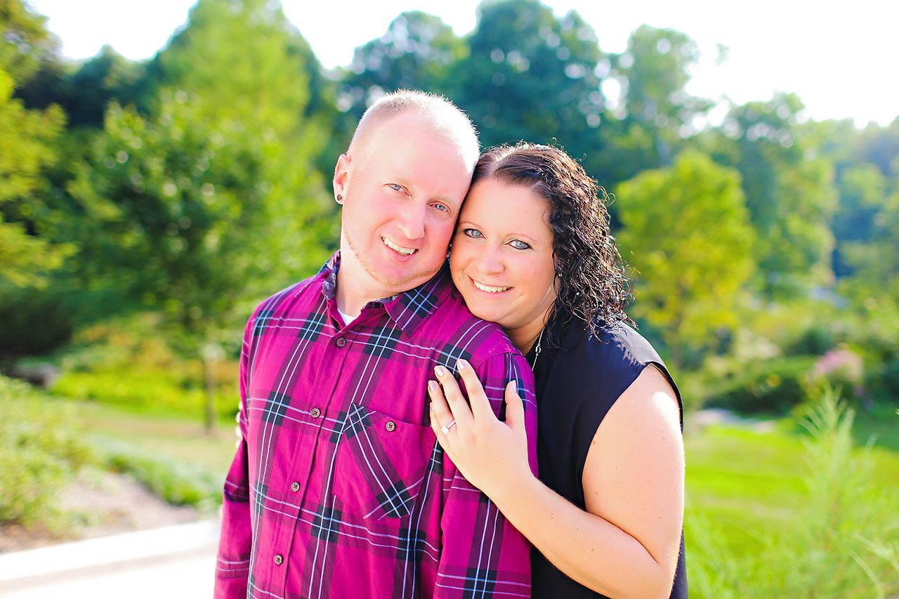 Brianna Eric Indianapolis Engagement Photographs 036