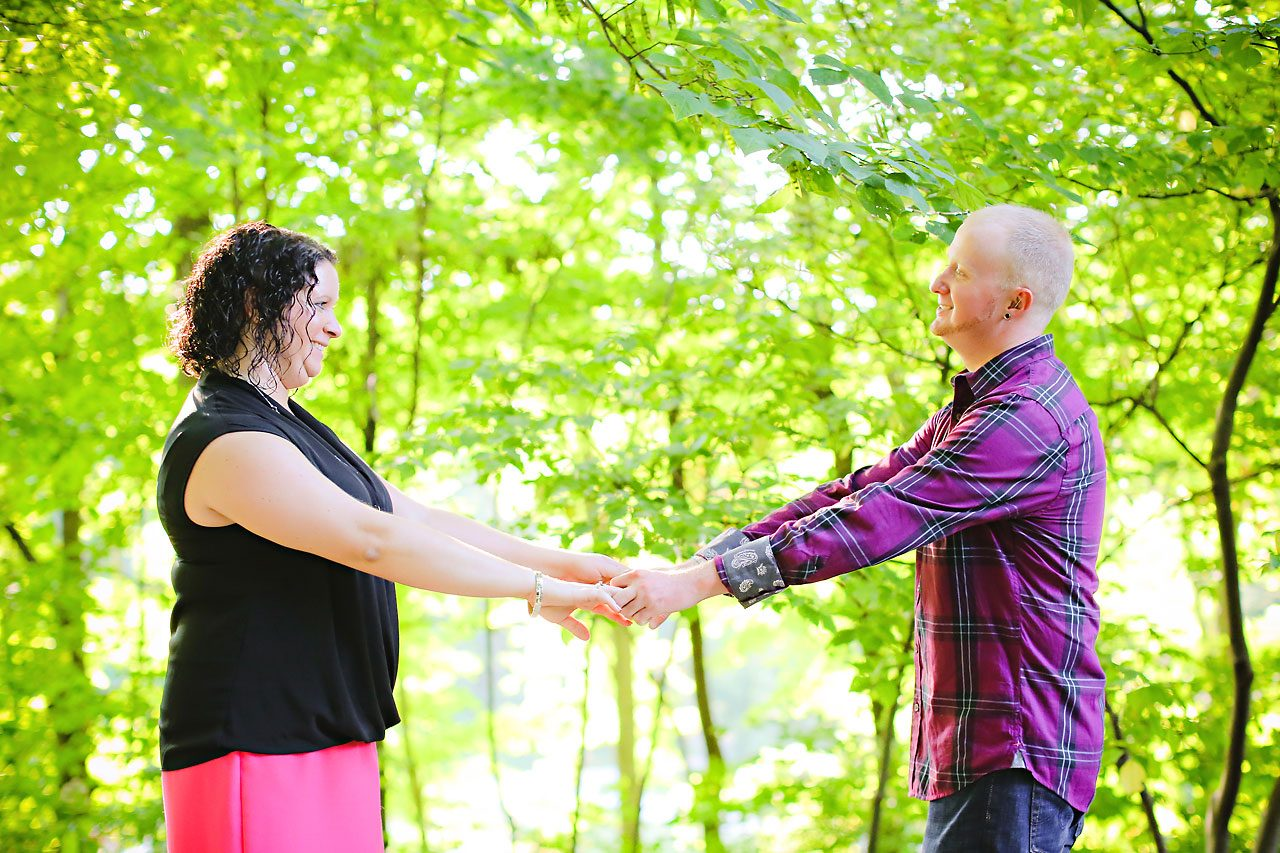 Brianna Eric Indianapolis Engagement Photographs 038