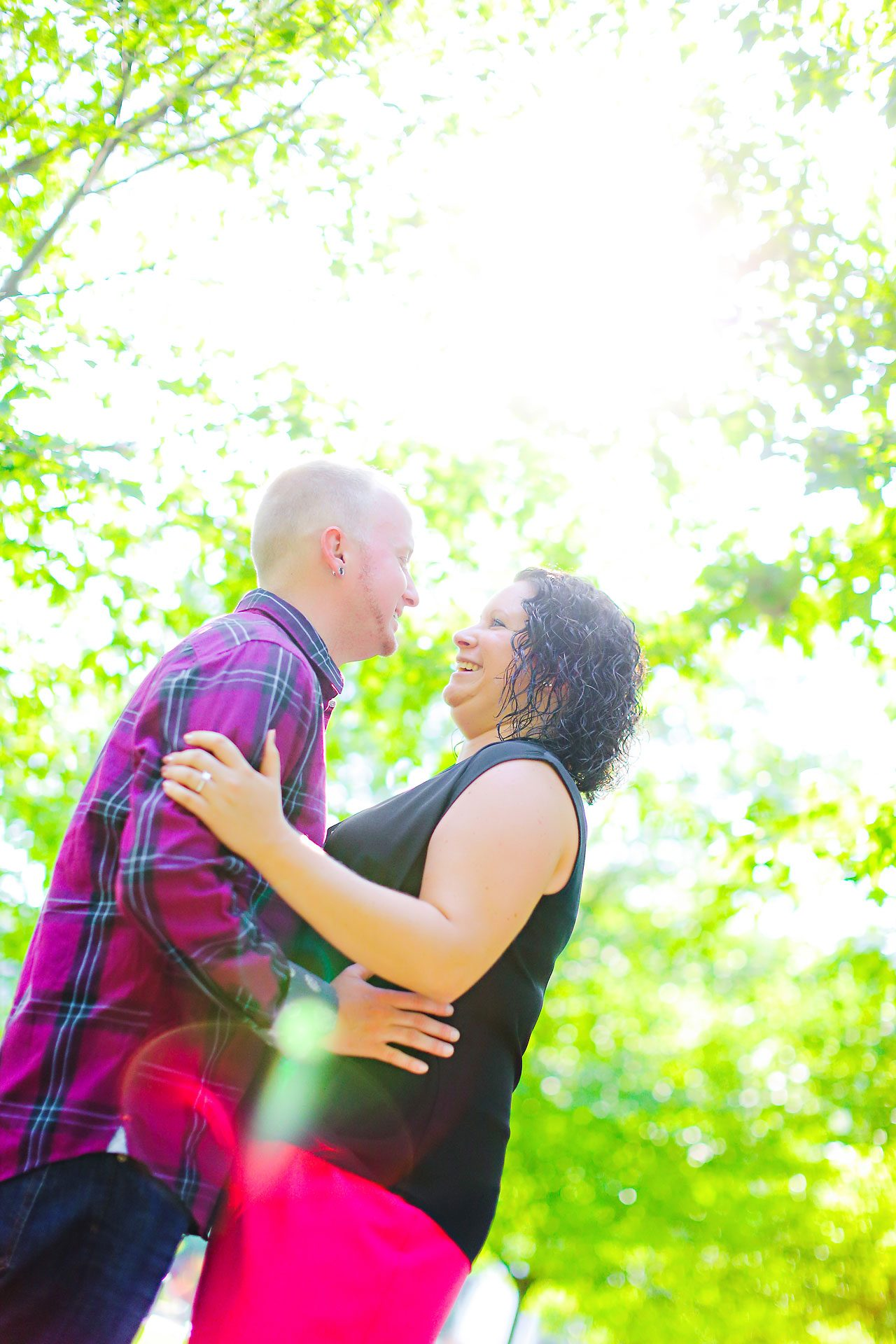 Brianna Eric Indianapolis Engagement Photographs 049