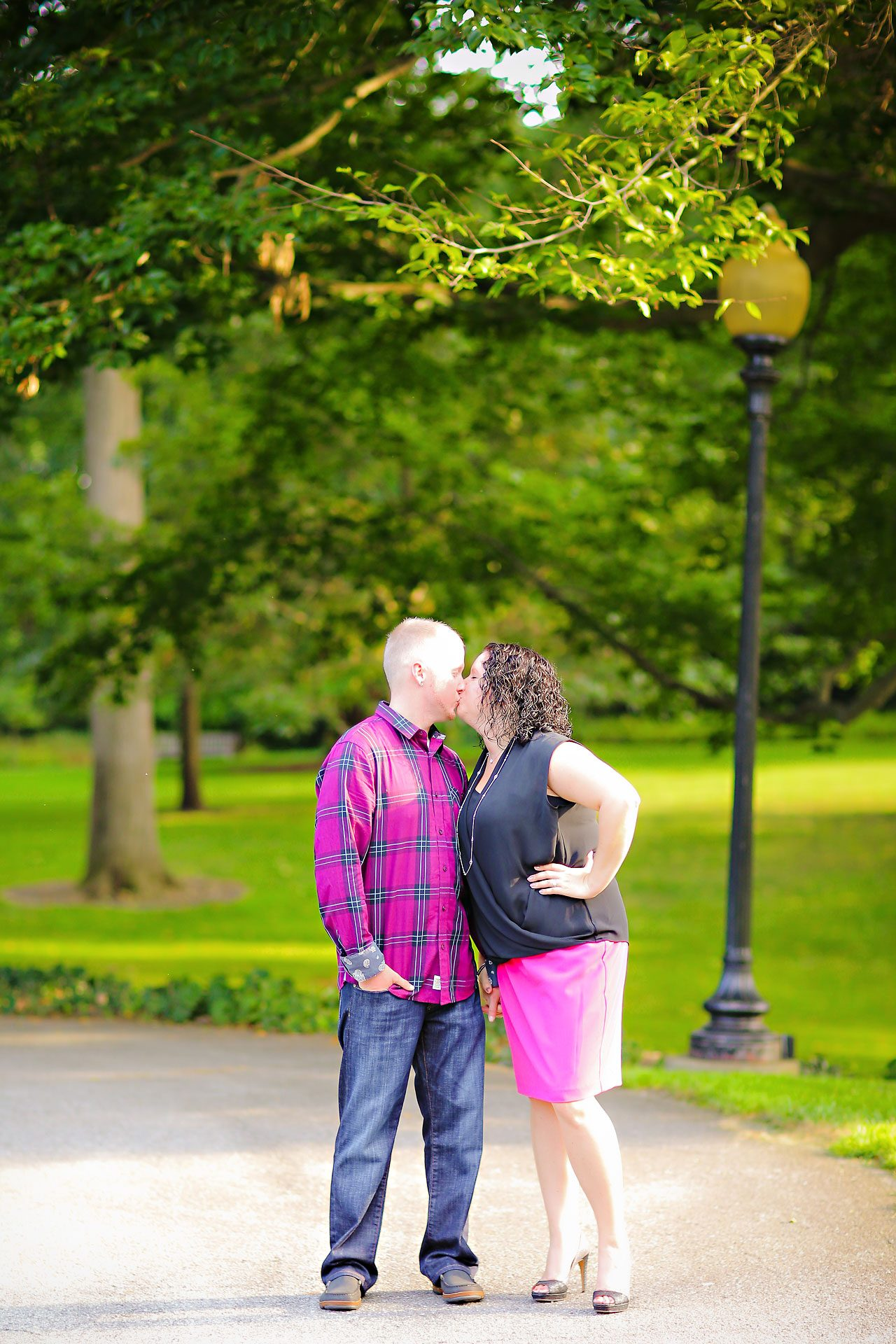 Brianna Eric Indianapolis Engagement Photographs 051