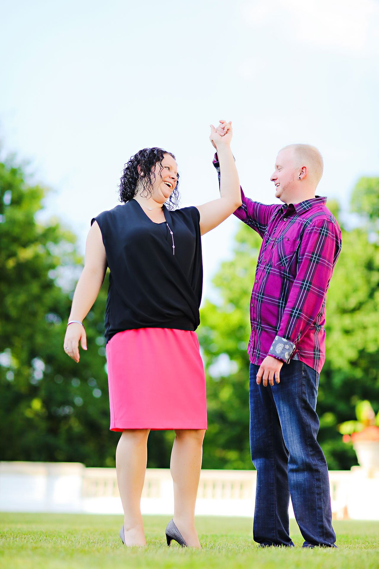 Brianna Eric Indianapolis Engagement Photographs 053