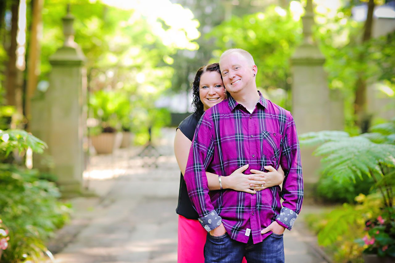 Brianna Eric Indianapolis Engagement Photographs 055