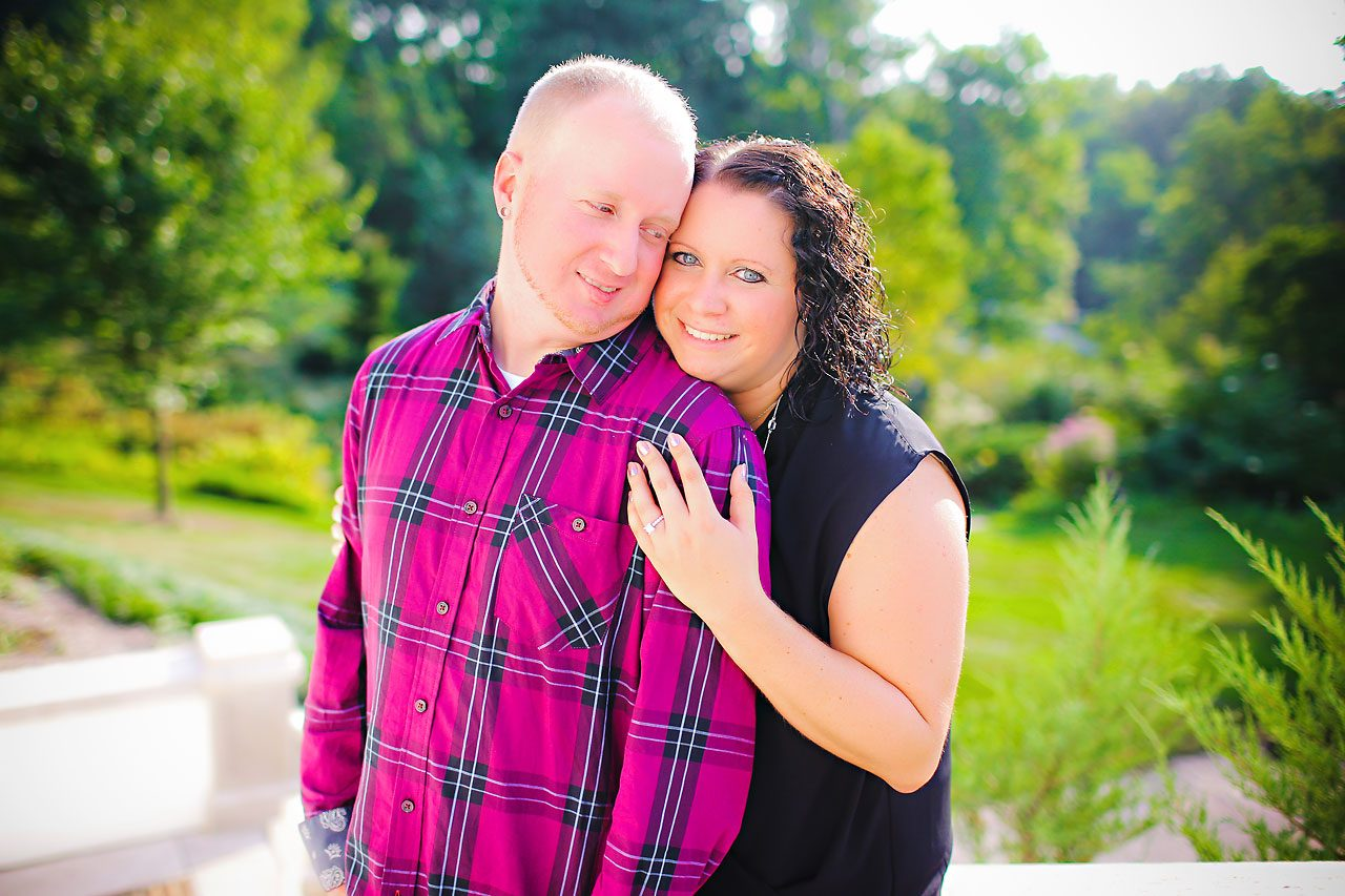 Brianna Eric Indianapolis Engagement Photographs 057