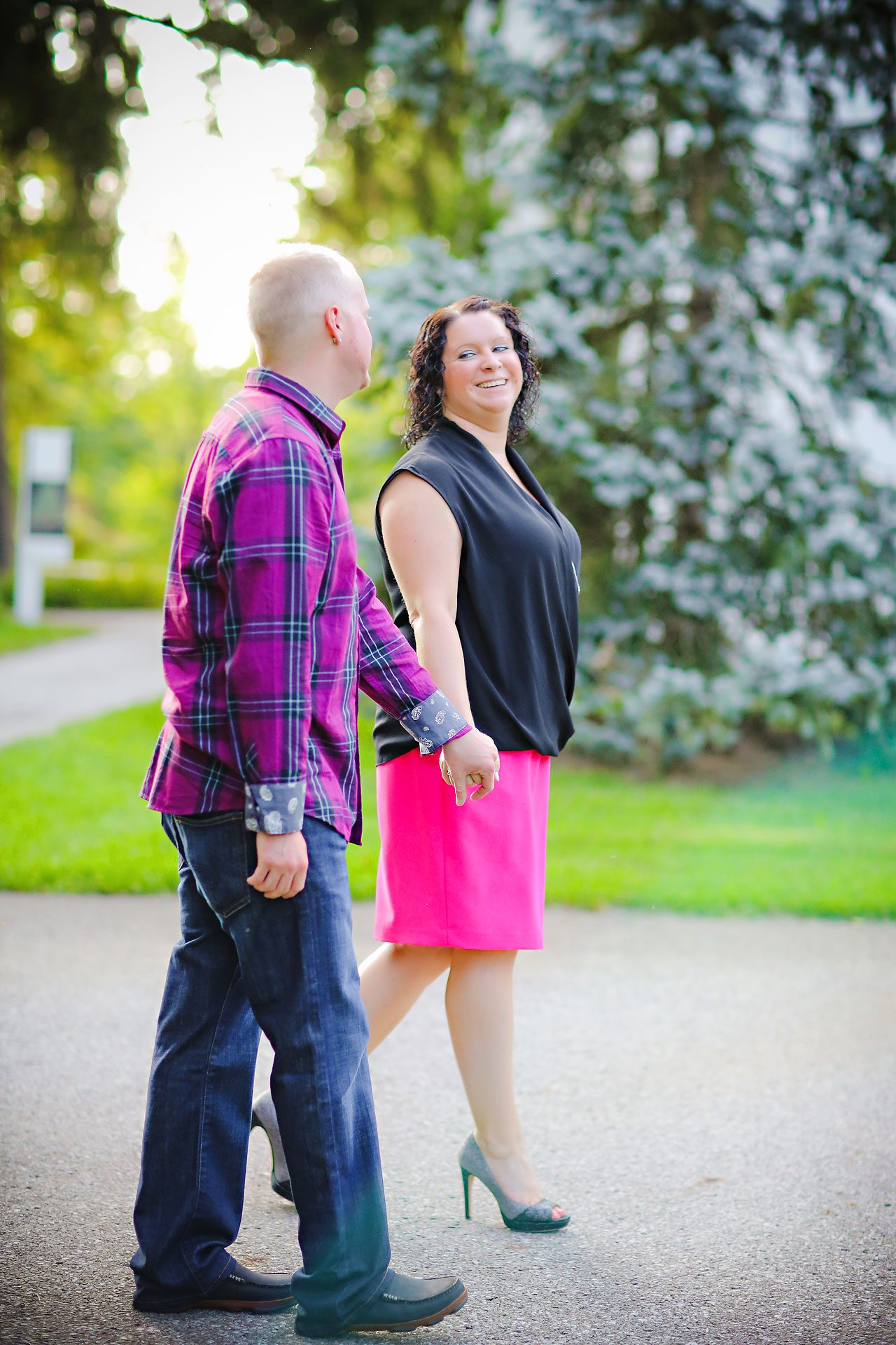 Brianna Eric Indianapolis Engagement Photographs 061