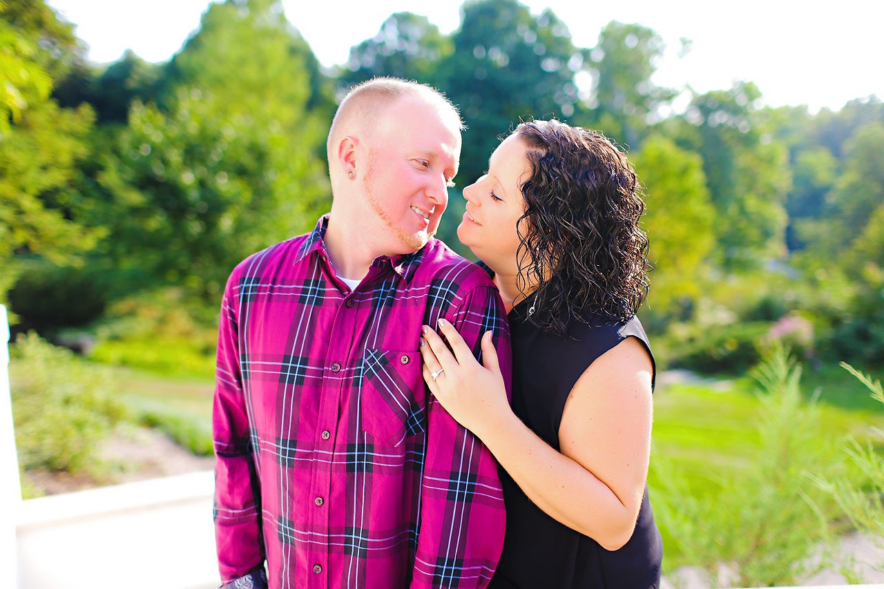 Brianna Eric Indianapolis Engagement Photographs 069