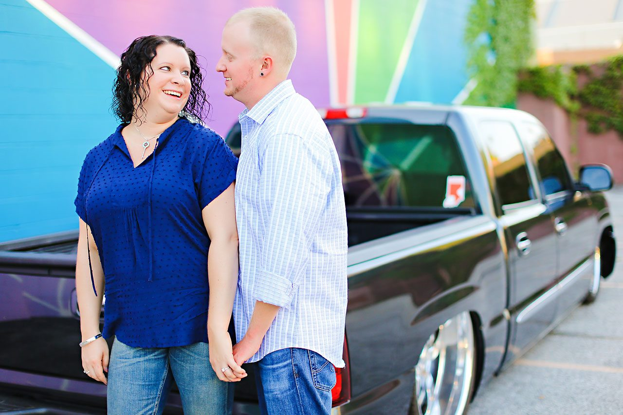 Brianna Eric Indianapolis Engagement Photographs 091