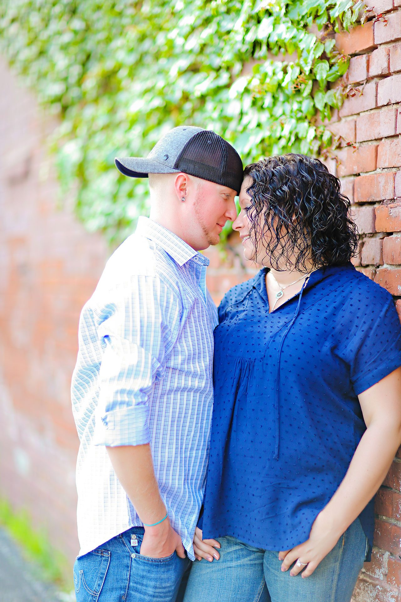 Brianna Eric Indianapolis Engagement Photographs 095