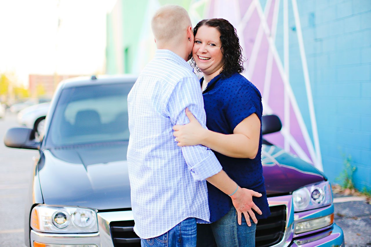 Brianna Eric Indianapolis Engagement Photographs 098