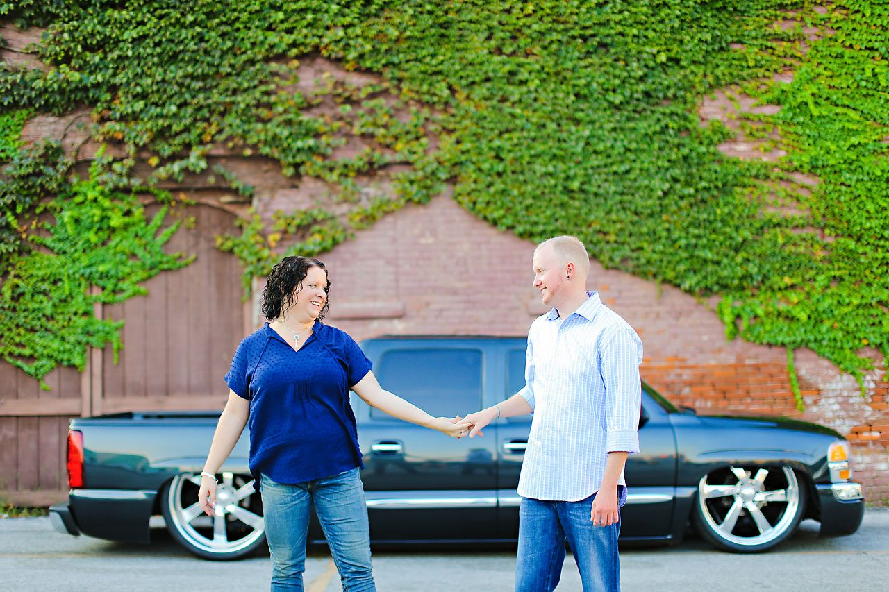 Brianna Eric Indianapolis Engagement Photographs 106