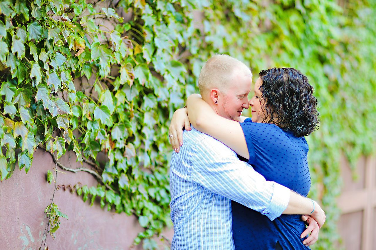 Brianna Eric Indianapolis Engagement Photographs 108
