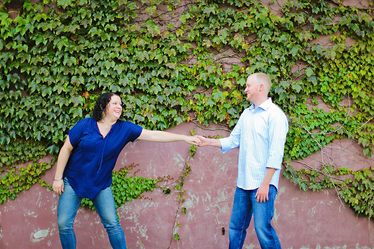 Brianna Eric Indianapolis Engagement Photographs 114