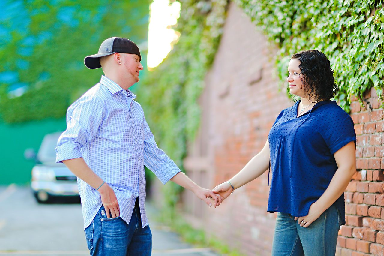 Brianna Eric Indianapolis Engagement Photographs 119