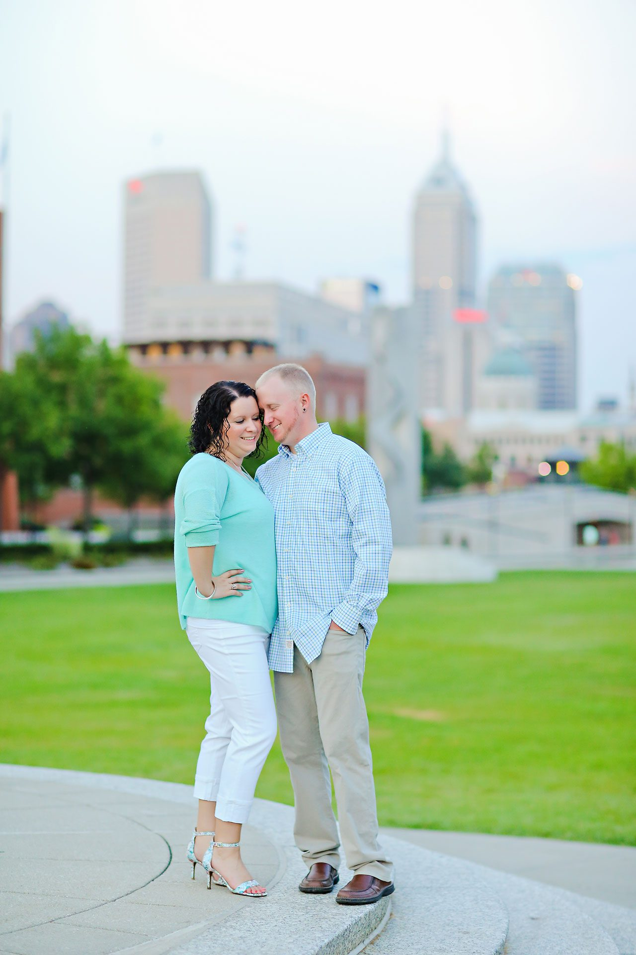 Brianna Eric Indianapolis Engagement Photographs 127