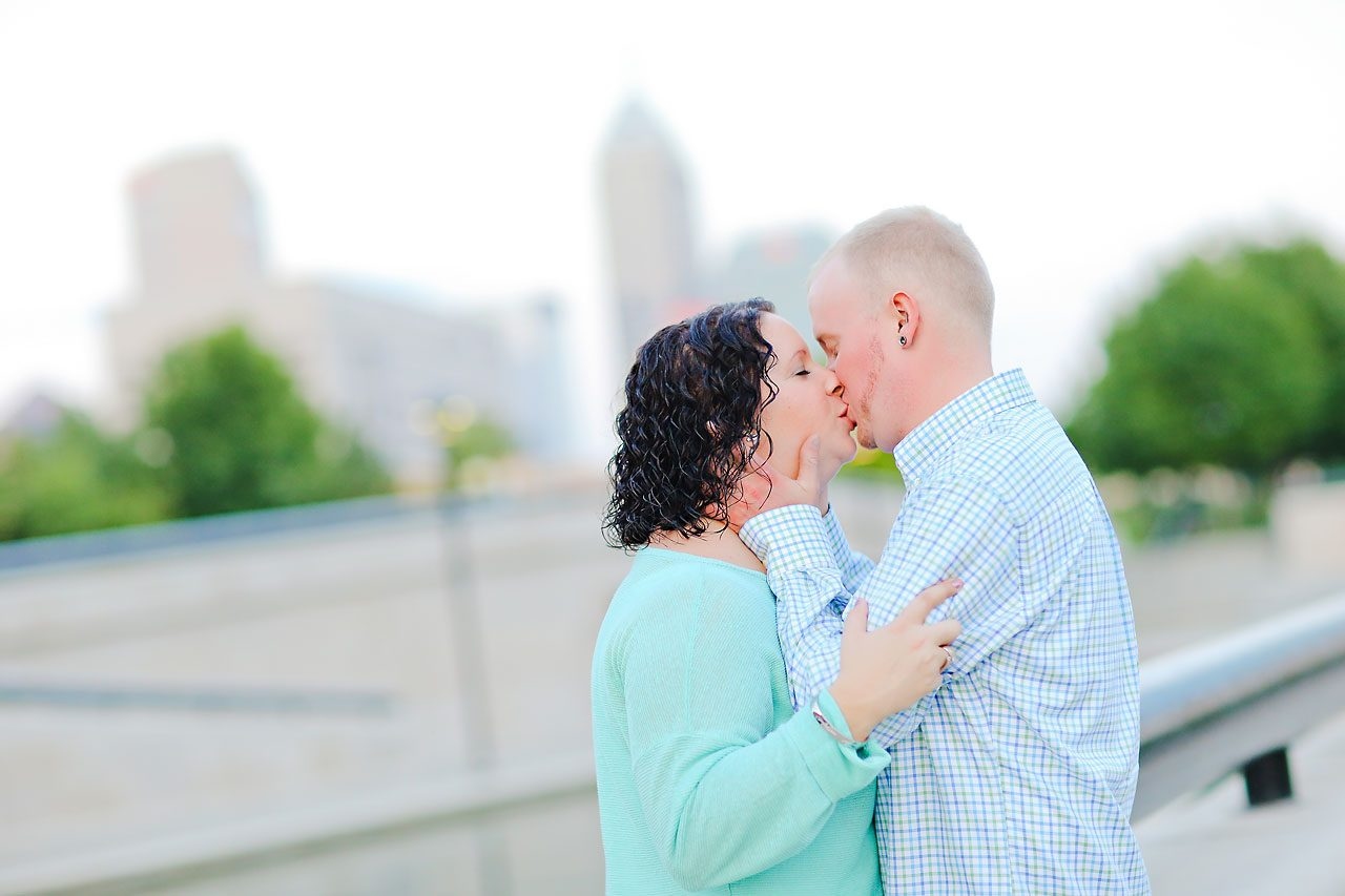 Brianna Eric Indianapolis Engagement Photographs 136