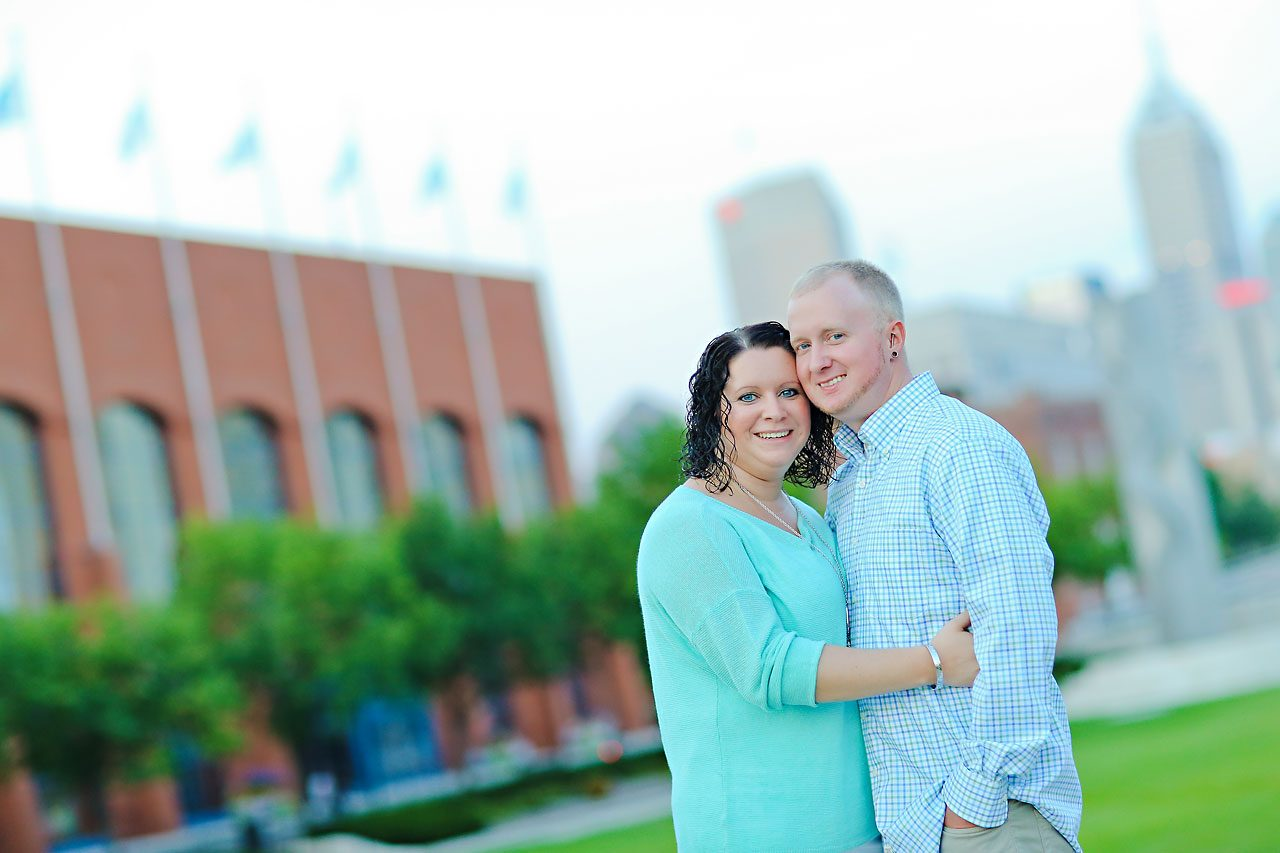 Brianna Eric Indianapolis Engagement Photographs 138