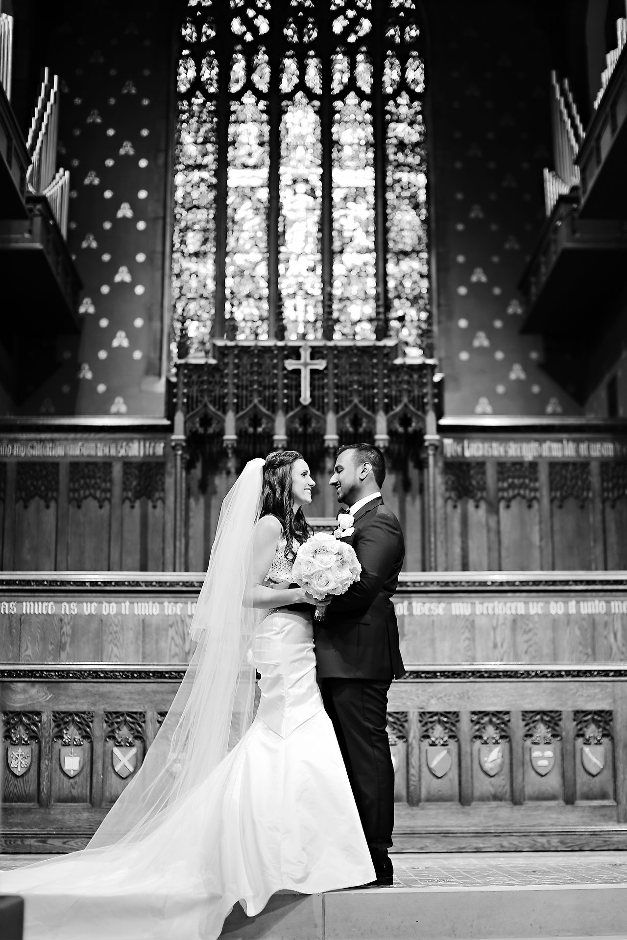 Rebekah Matthew Indianapolis Library Wedding 123