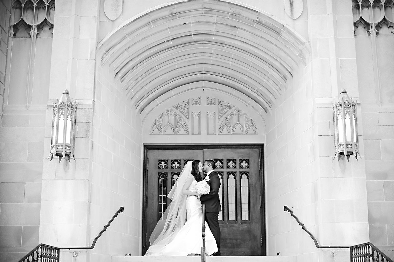 Rebekah Matthew Indianapolis Library Wedding 129