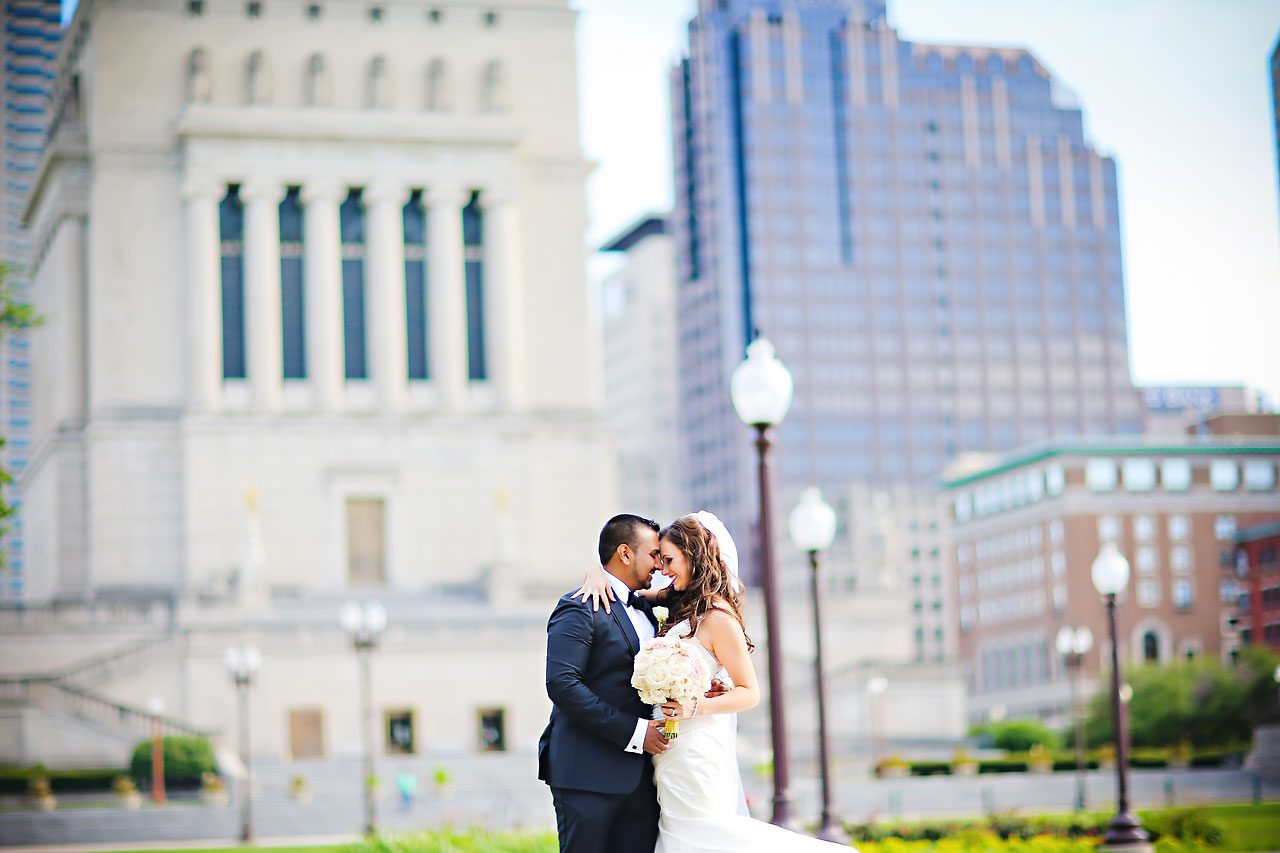 Rebekah Matthew Indianapolis Library Wedding