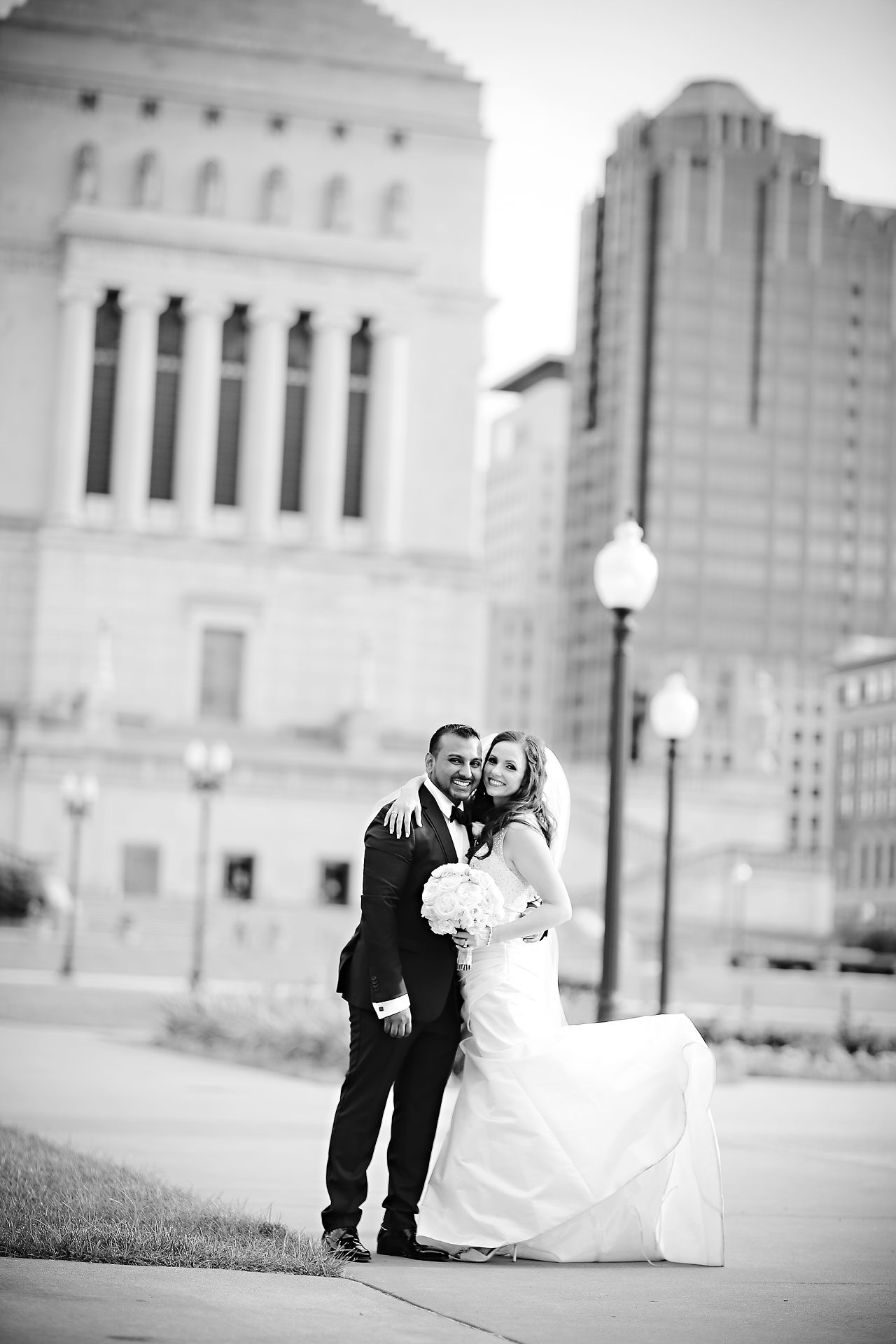 Rebekah Matthew Indianapolis Library Wedding 170