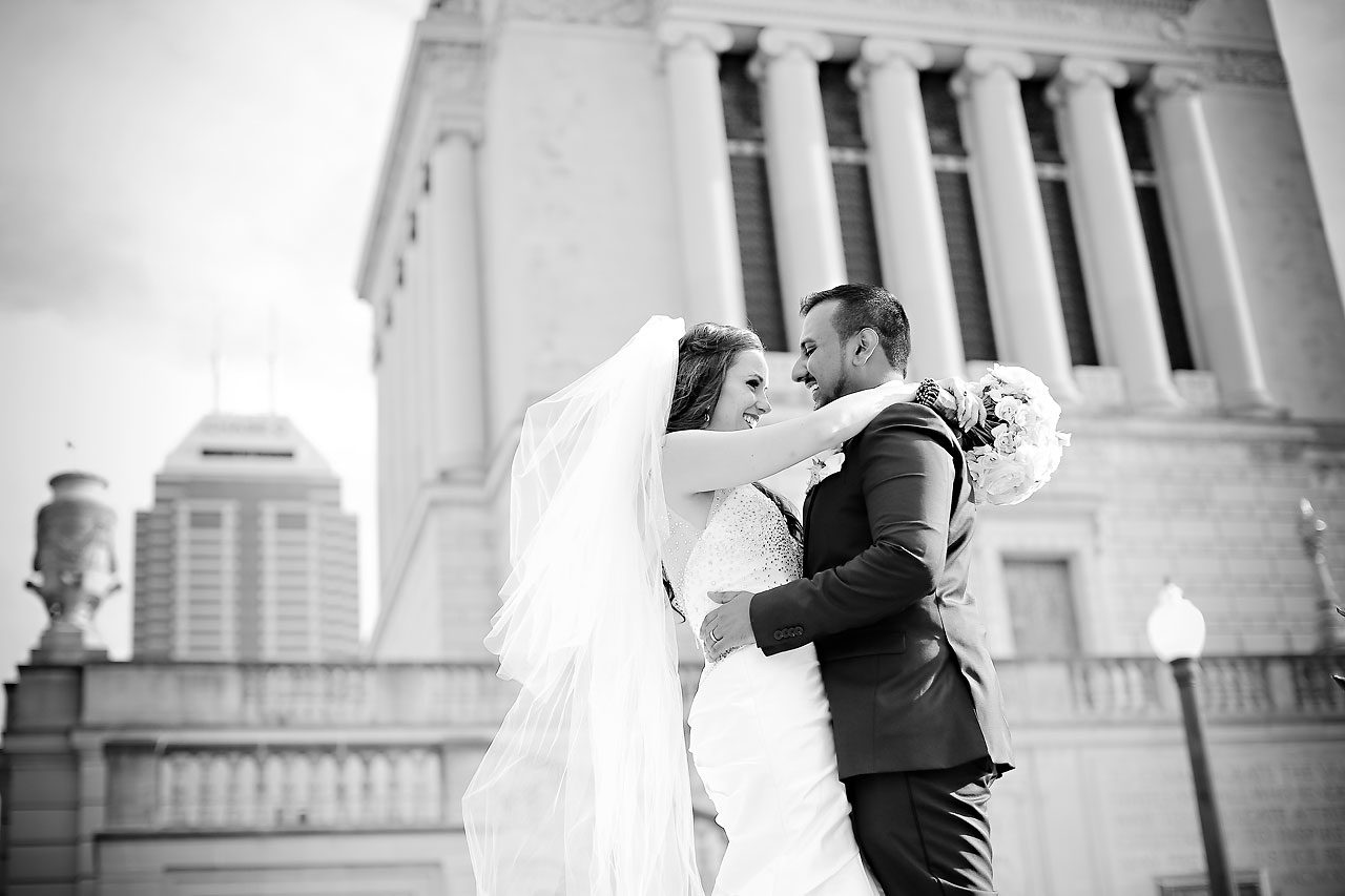 Rebekah Matthew Indianapolis Library Wedding 171