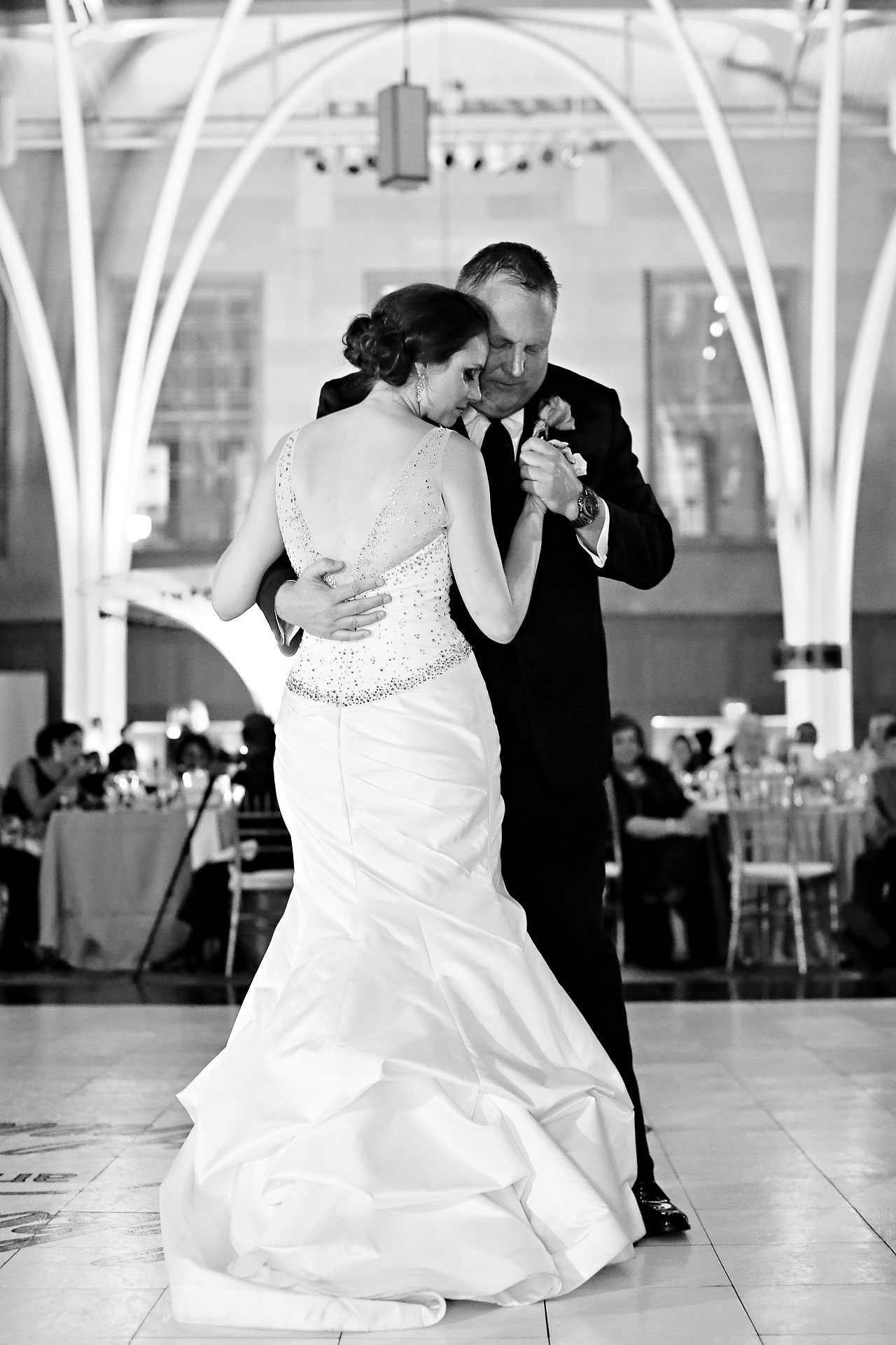 Rebekah Matthew Indianapolis Library Wedding 293