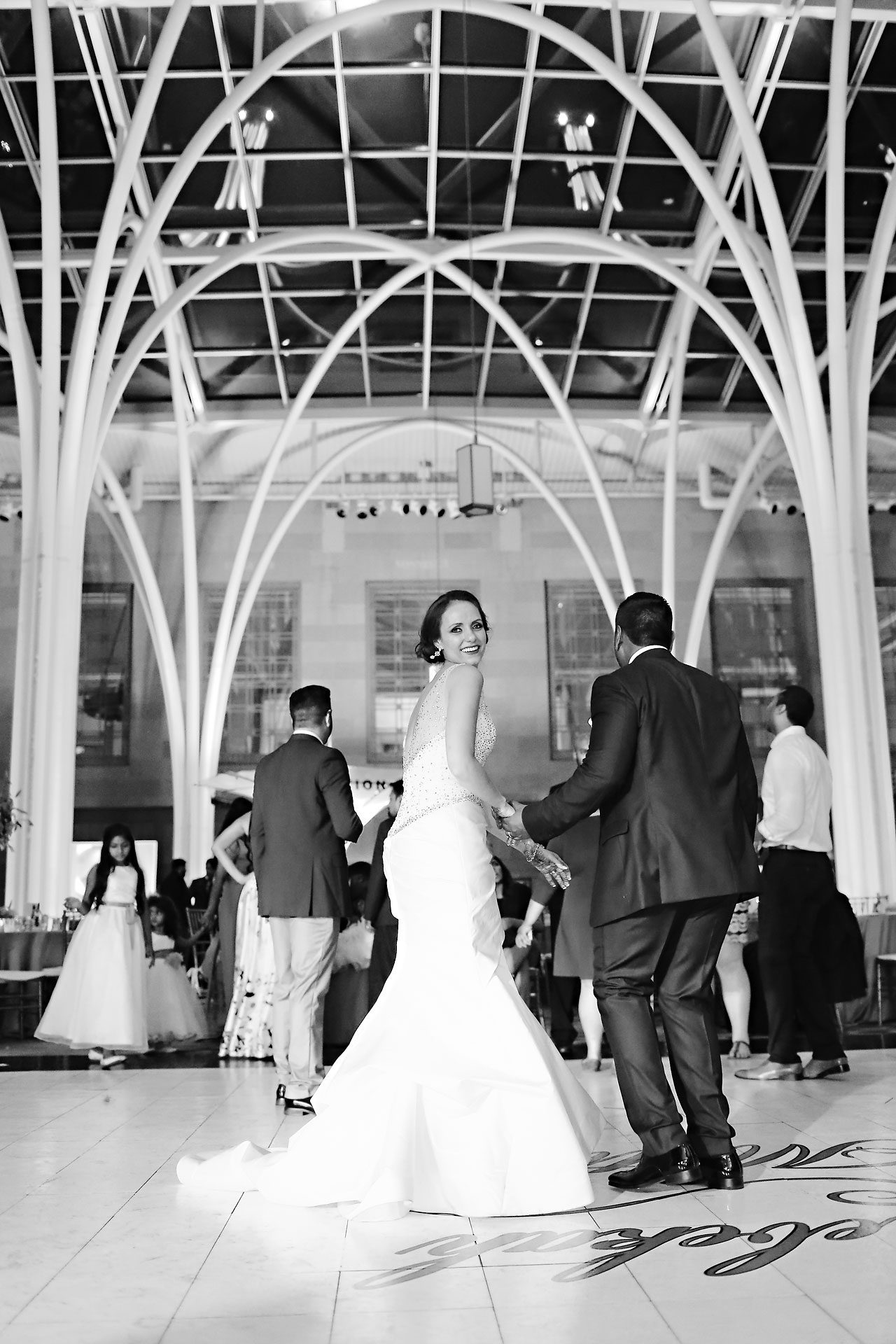 Rebekah Matthew Indianapolis Library Wedding 330