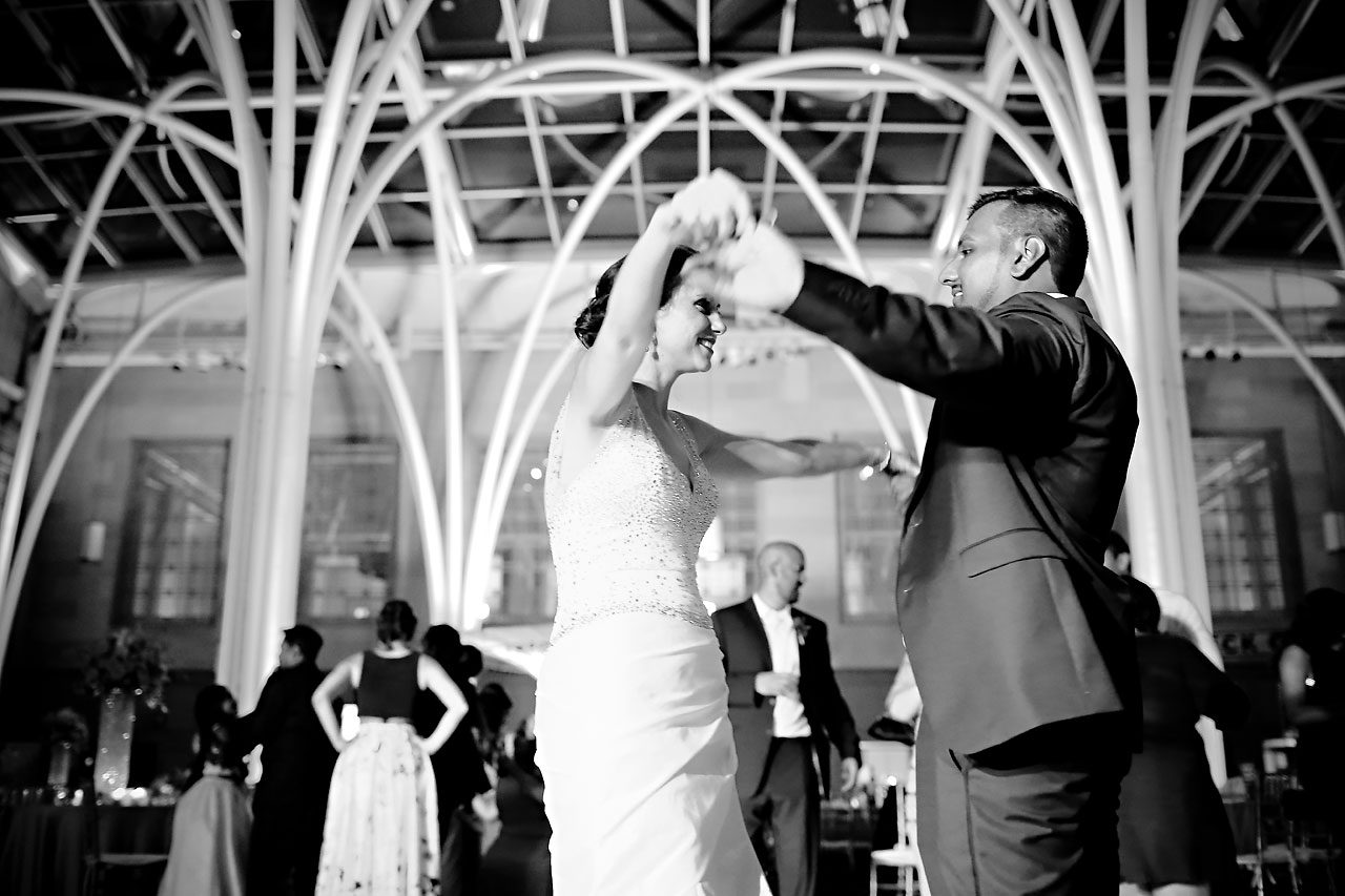 Rebekah Matthew Indianapolis Library Wedding 344
