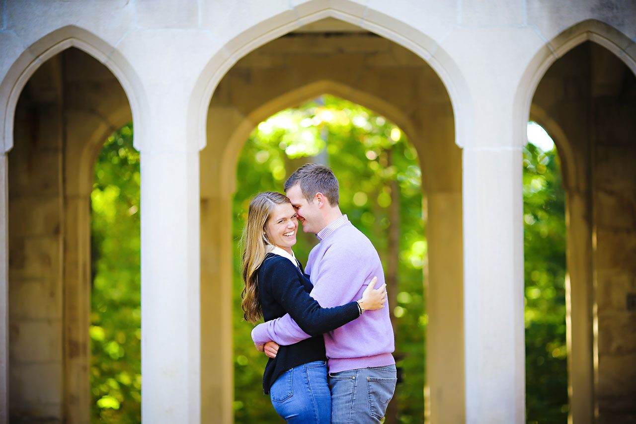 011 Brooke Tyler Indiana University Engagement Session