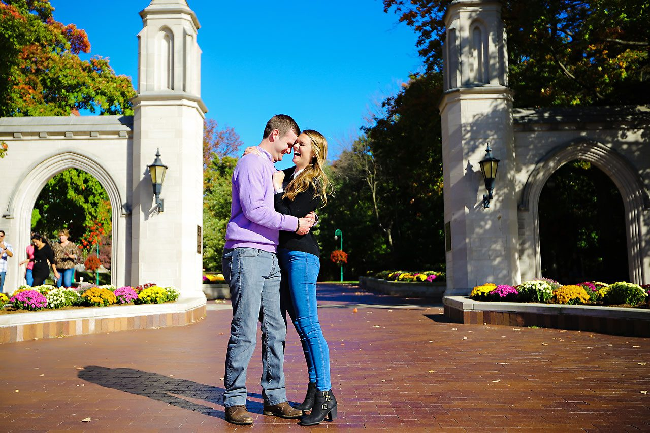021 Brooke Tyler Indiana University Engagement Session