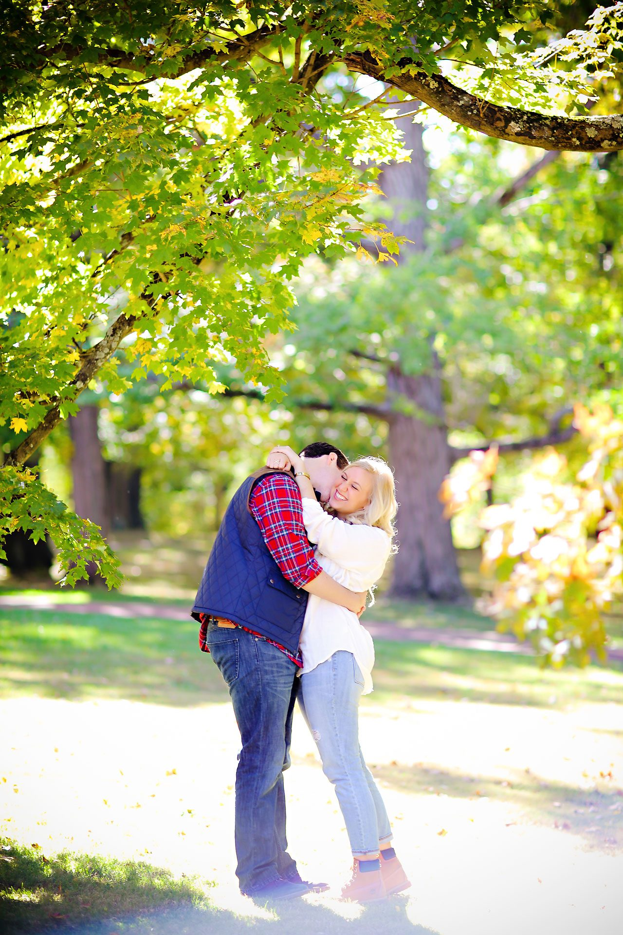 022 Taylor AJ Bloomington Engagement Session
