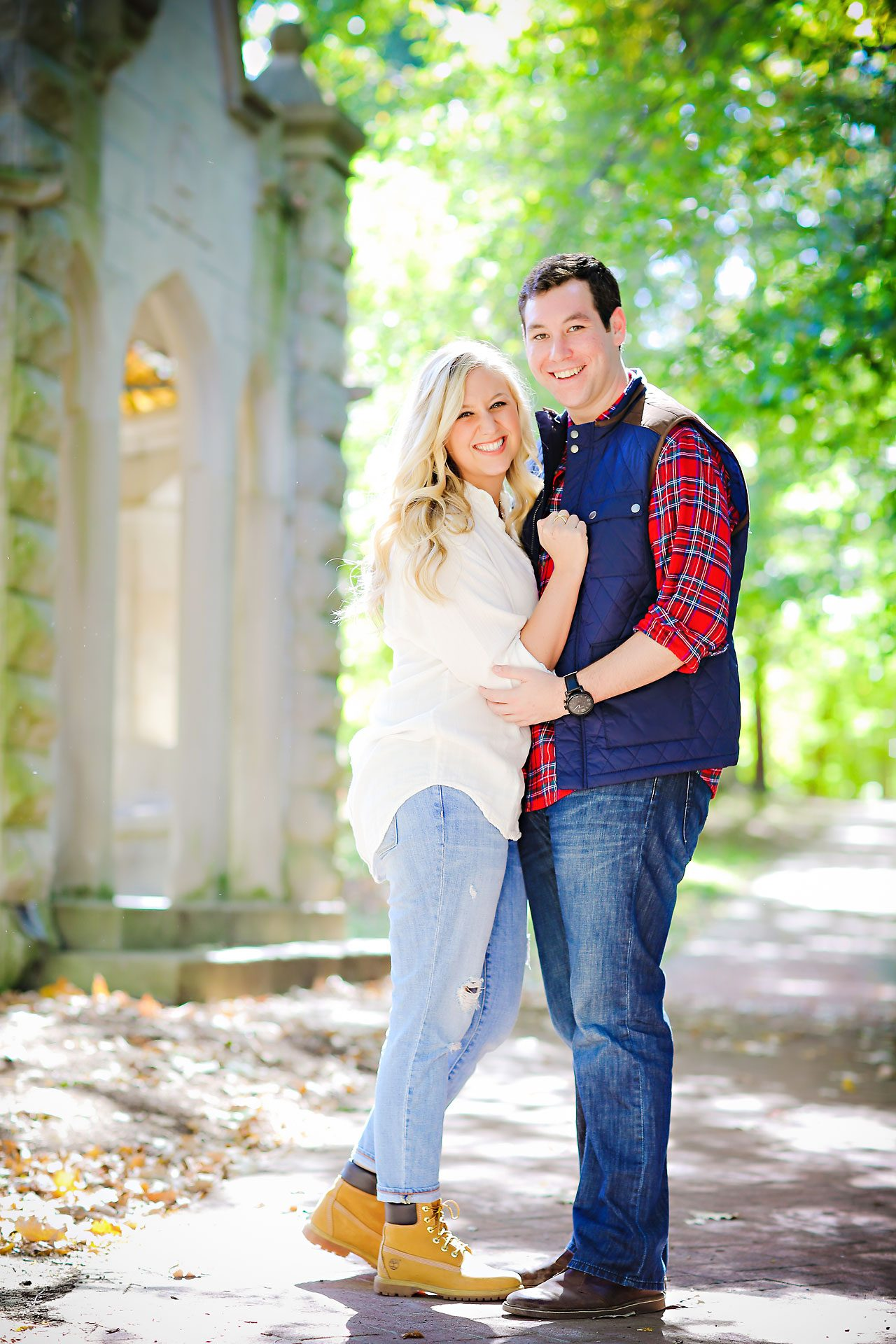 023 Taylor AJ Bloomington Engagement Session