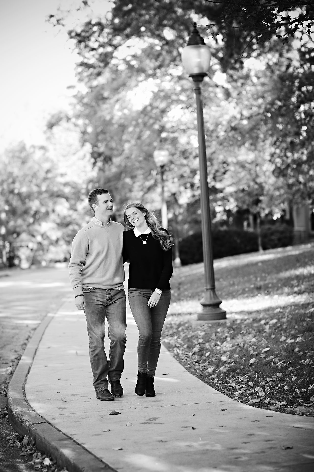 041 Brooke Tyler Indiana University Engagement Session